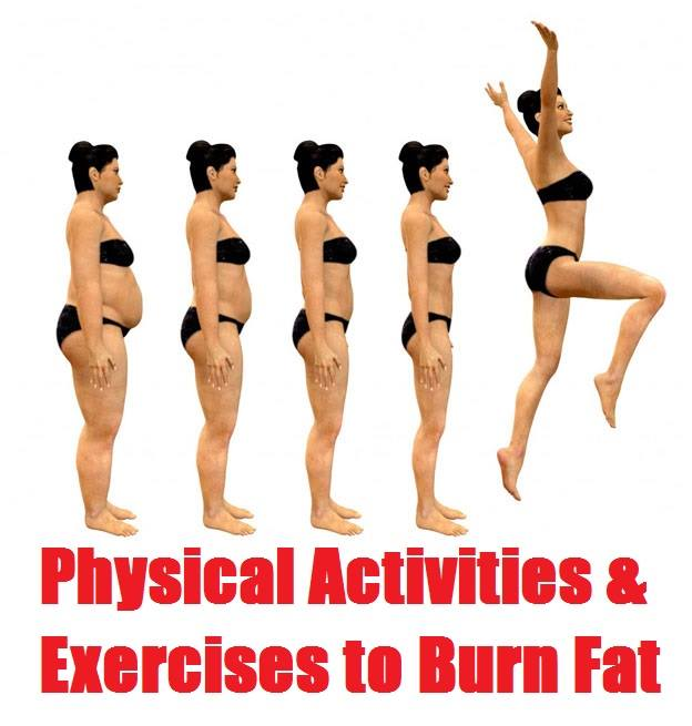 Physical Activities And Exercises to Burn Fat