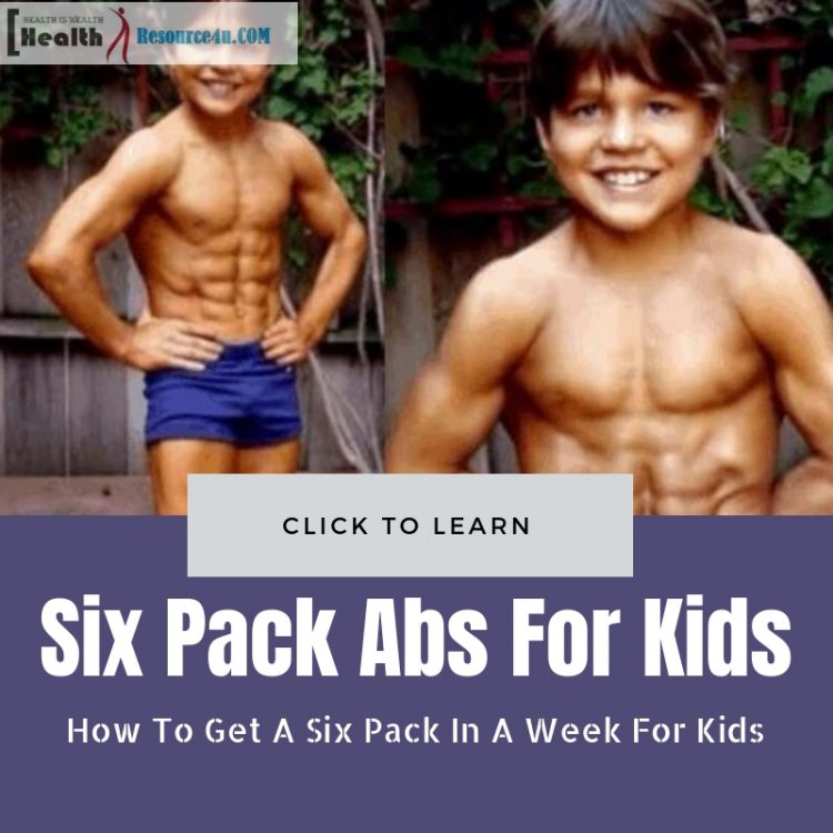 Six Pack In A Week For Kids