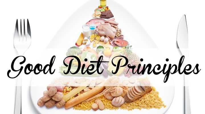 Good Diet Principles For Loosing Weight