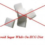 Avoid Sugar While On the HCG Diet