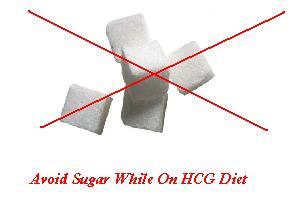 Avoid Sugar While On the HCG Diet