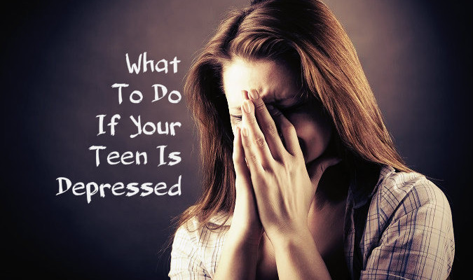 Your Teen is Depressed you can help