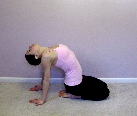 chest-opening stretch