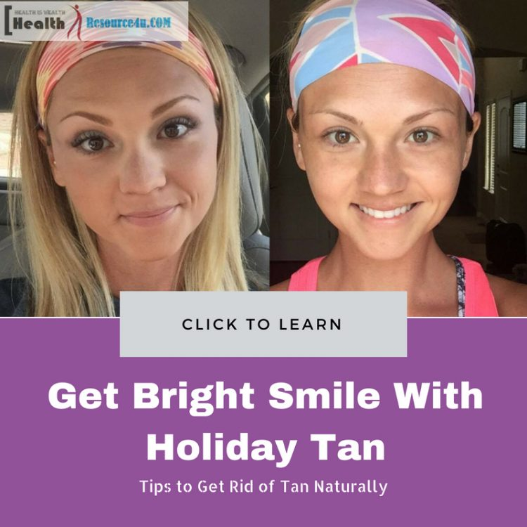 Get Bright Smile With Holiday Tan