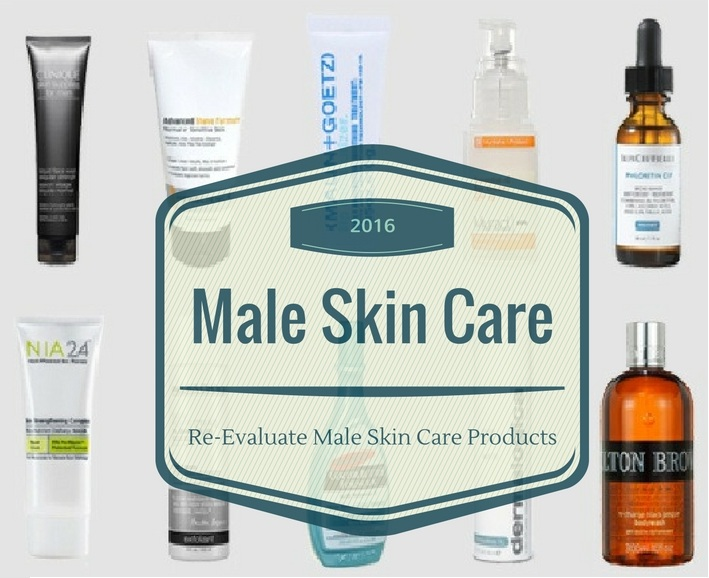 Re-Evaluate Male Skin Care Products