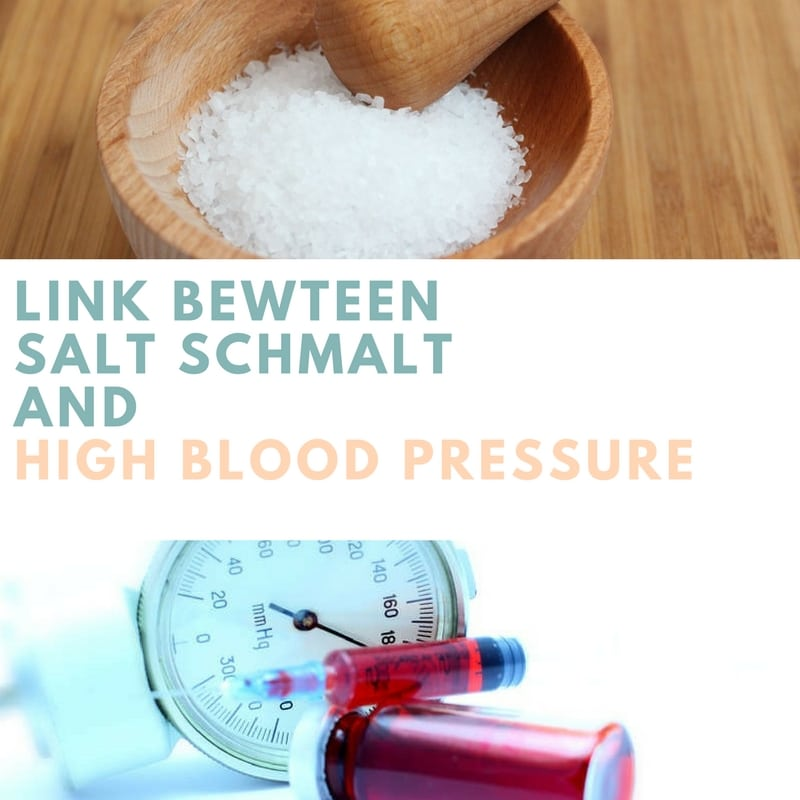 Salt Schmalt and High Blood Pressure