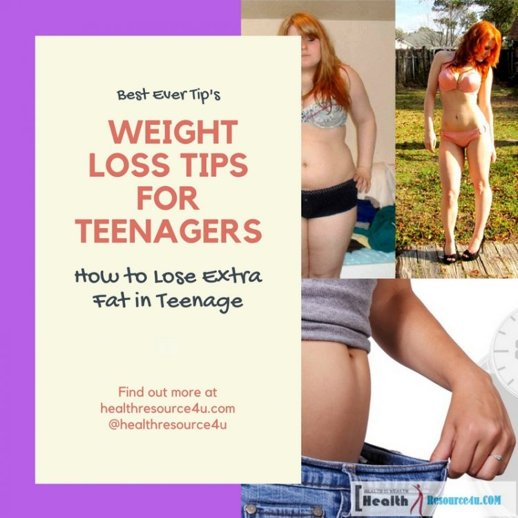 Best Weight Loss Tips for Teenagers