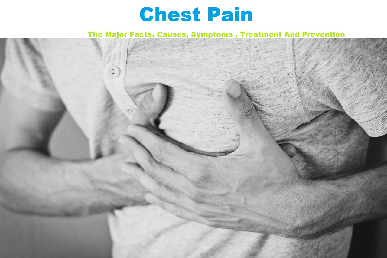 Chest Pain: The Major Facts, Causes, Symptoms , Treatment And Prevention