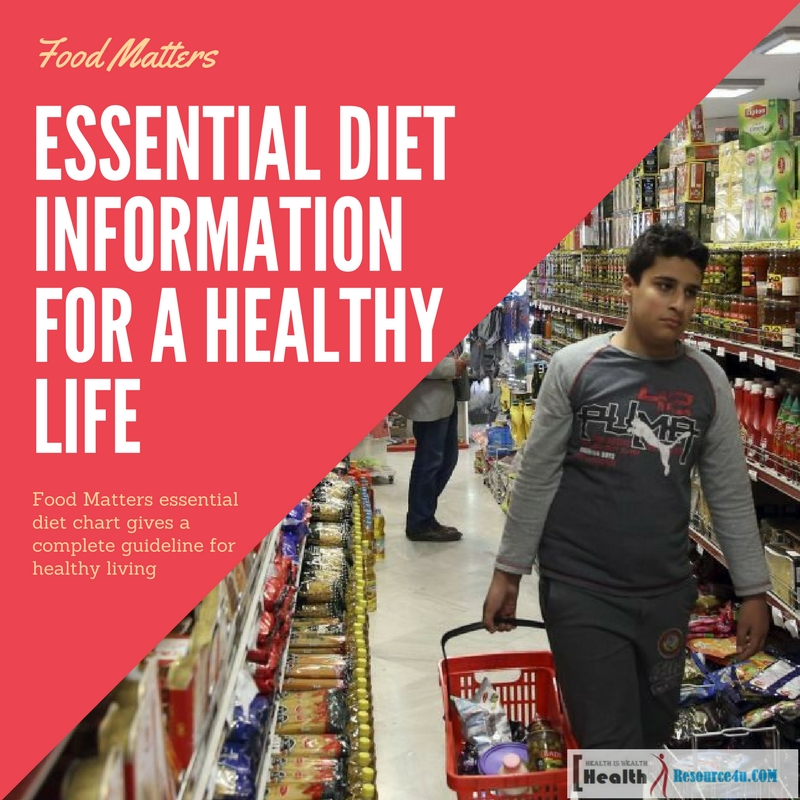 Essential Diet Information For A Healthy Life