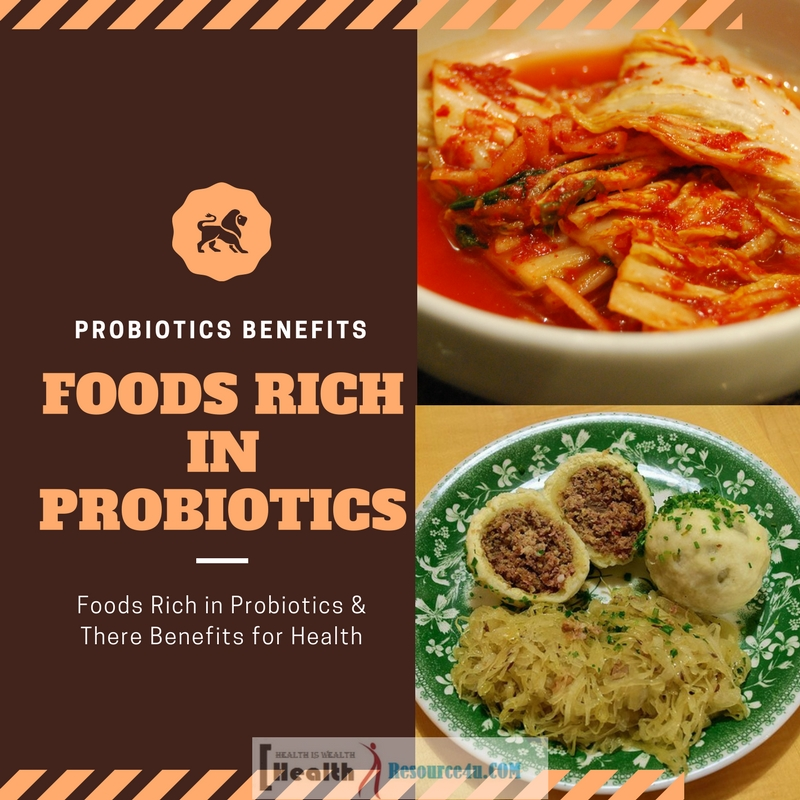 Foods Rich in Probiotics