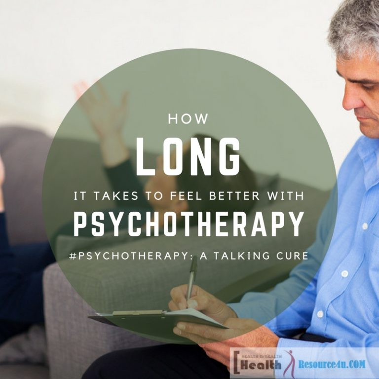 How Long It Takes To Feel Better With Psychotherapy
