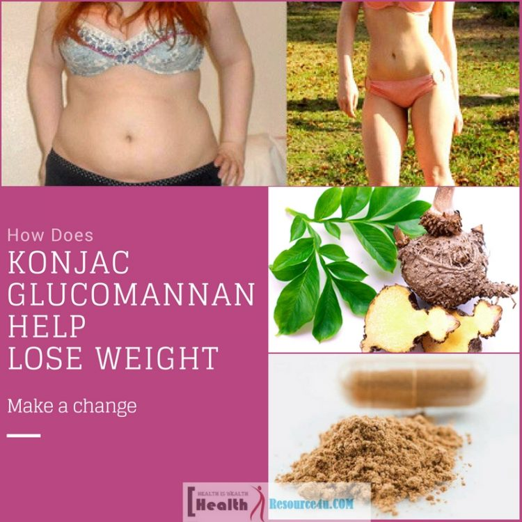 Konjac Glucomannan Help Lose Weight