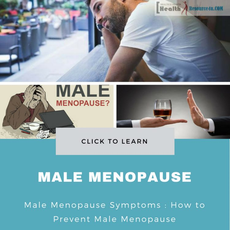Male Menopause Symptoms Treatment