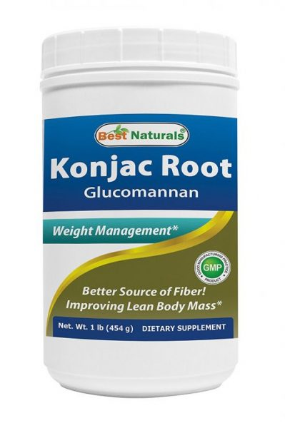 Naturals Glucomannan Weight Loss Pure Powder