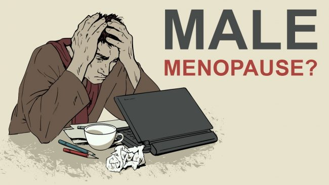 symptoms of male menopause