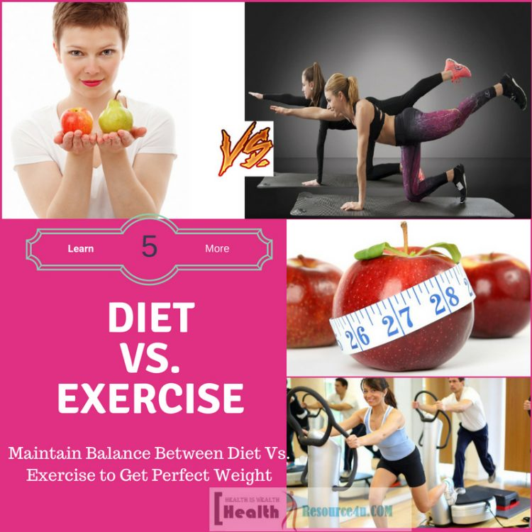 Diet vs. Exercise