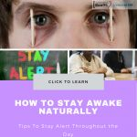 How to Stay Awake Naturally