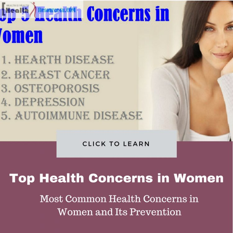 Most Common Health Concerns in Women