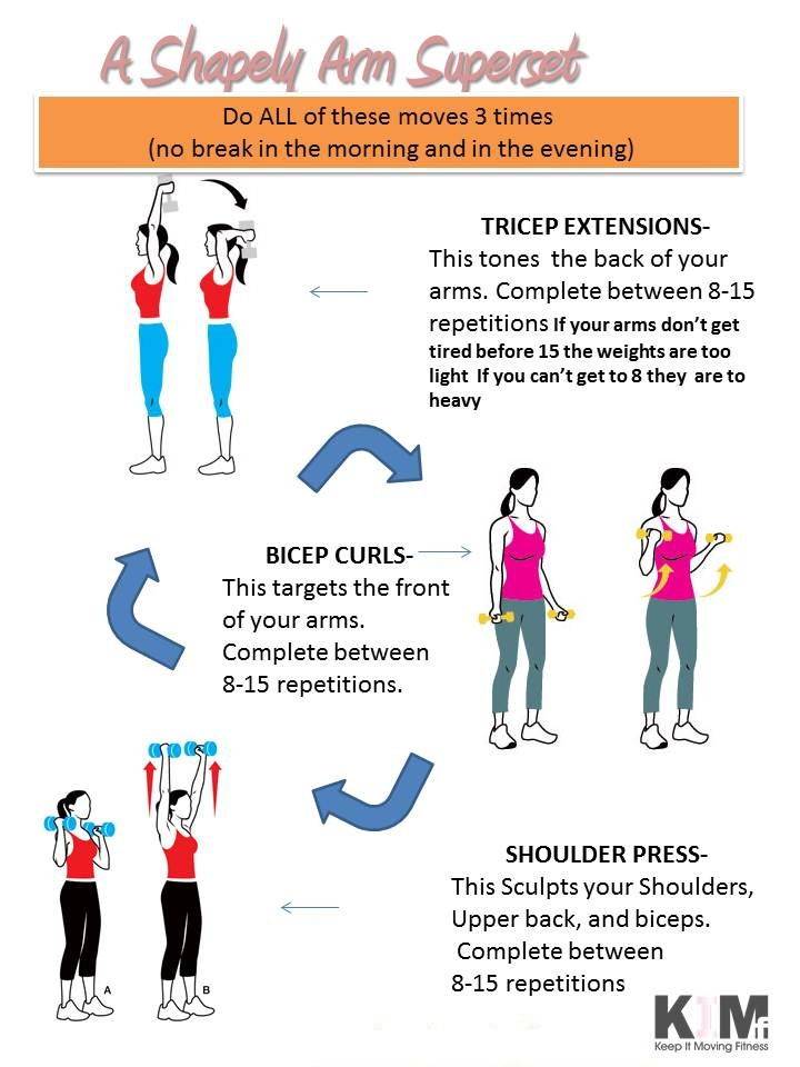 a shapely arm superset