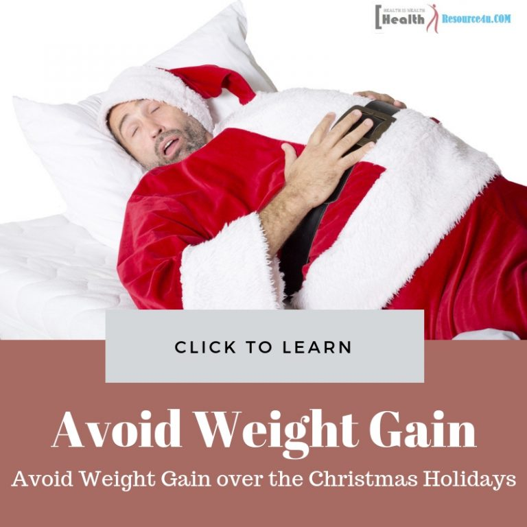 Avoid Weight Gain over the Christmas Holidays