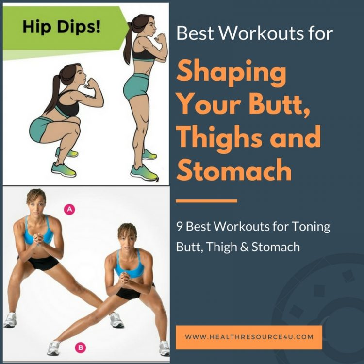 Best Workouts for Toning Butt, Thigh & Stomach