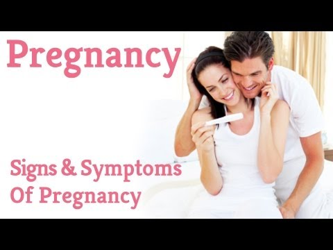 Early Signs And Symptoms Of Pregnancy