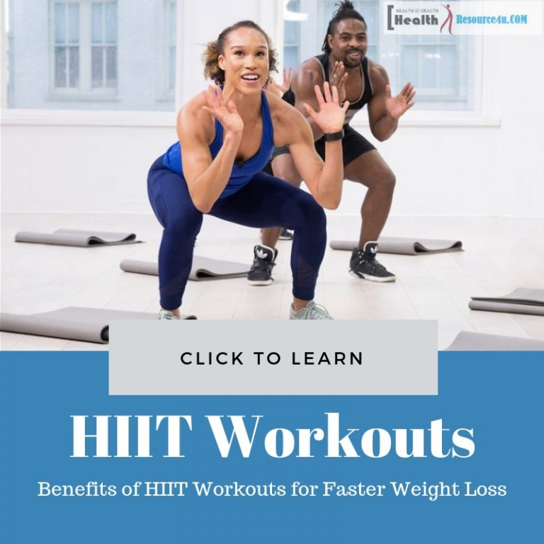 HIIT Workouts for Faster Weight Loss