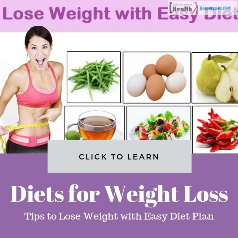 Lose Weight with Easy Diet