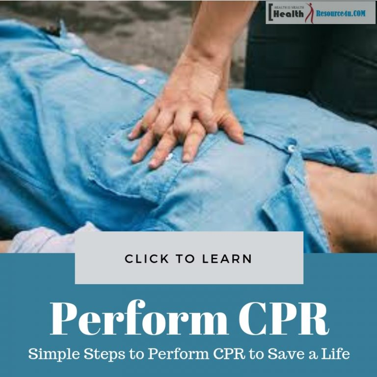 Steps to Perform CPR