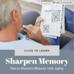 Tips to Sharpen Memory with Aging