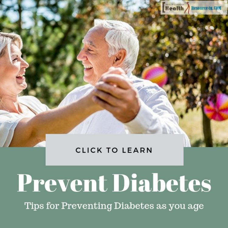 preventing diabetes as you age