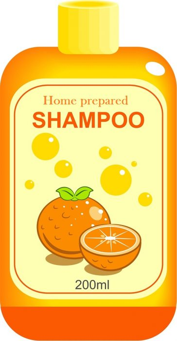 Home prepared Shampoo