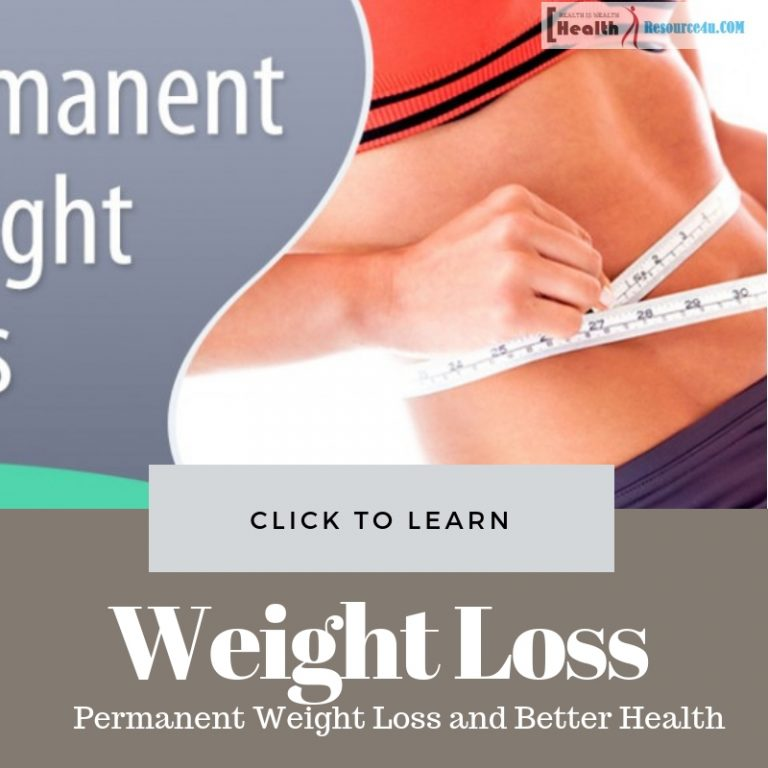 Tips For Permanent Weight Loss