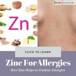 Zinc for Allergies