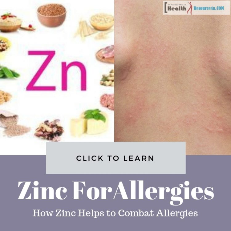 Zinc for Allergies