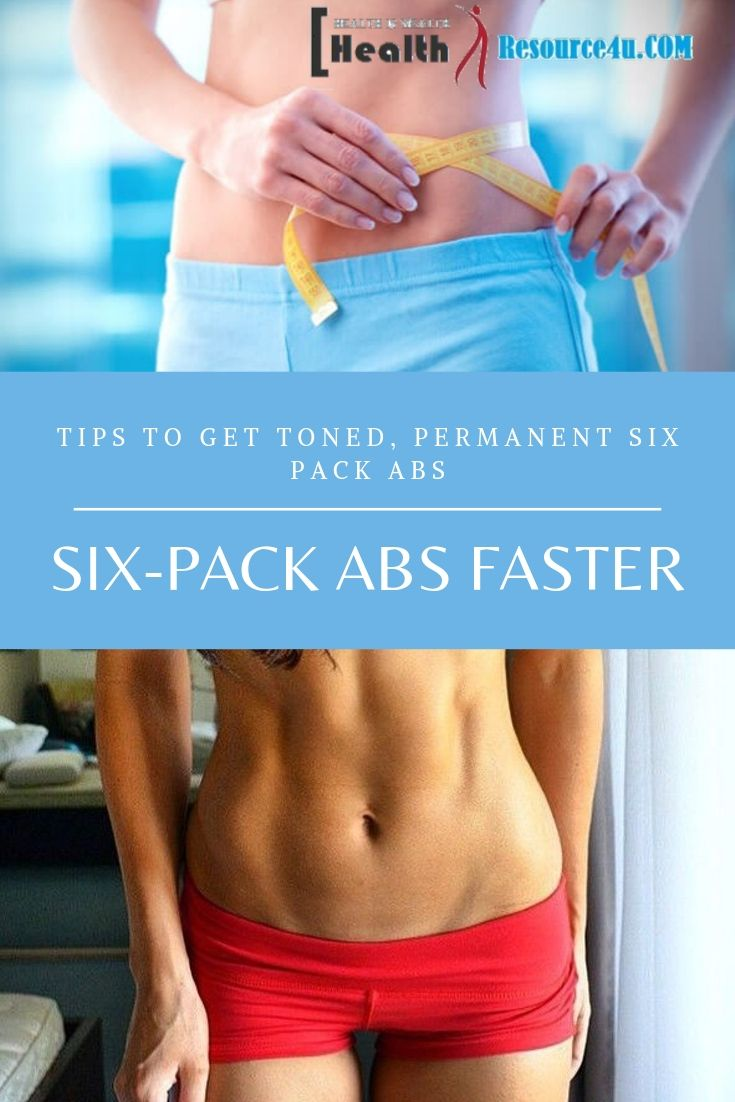 Permanent Six-Pack Abs Faster