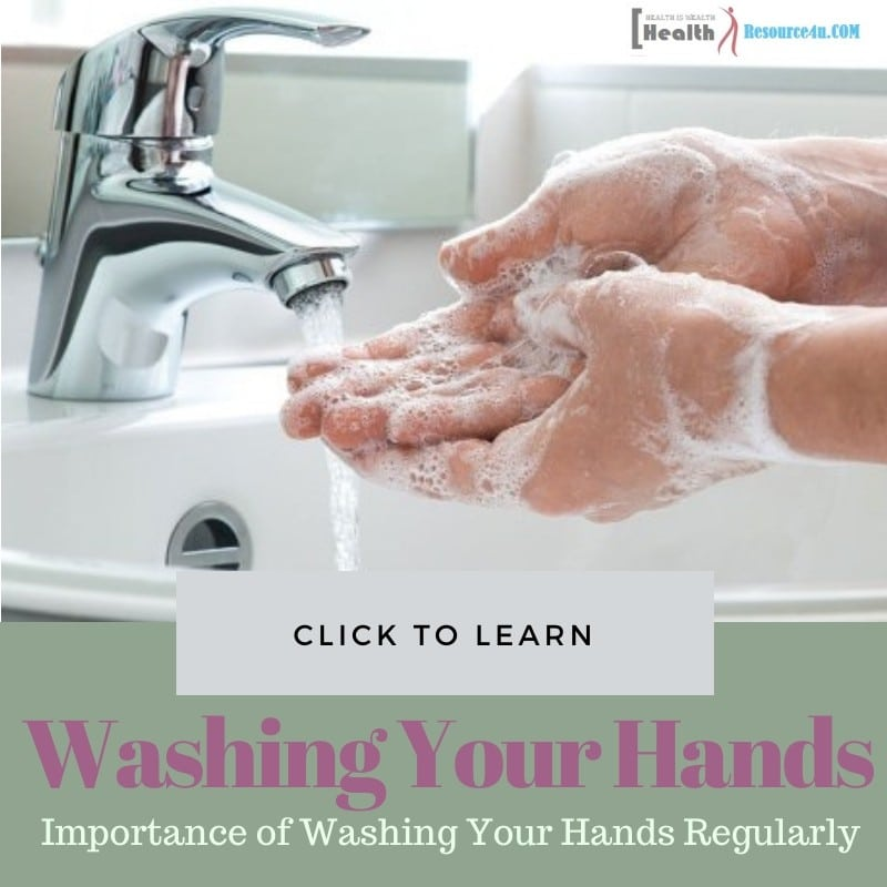Washing Your Hands Regularly