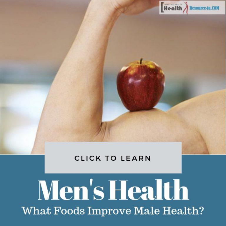 Male Health Boosting Foods
