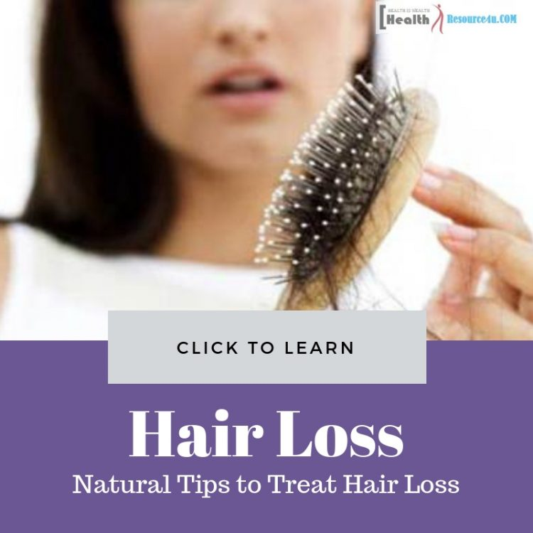 Natural Tips to Treat Hair Loss