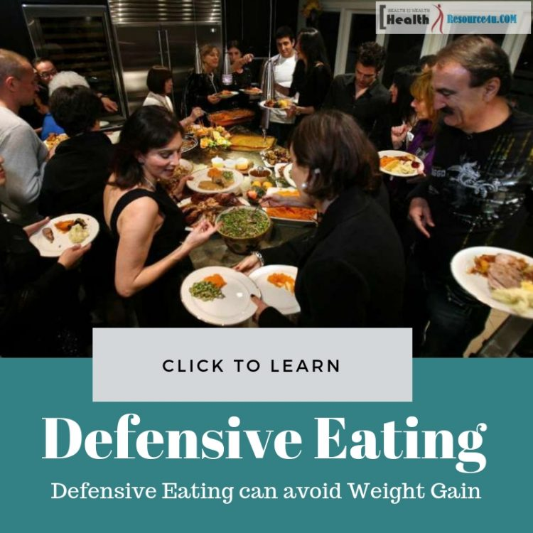 defensive eating can avoid weight gain