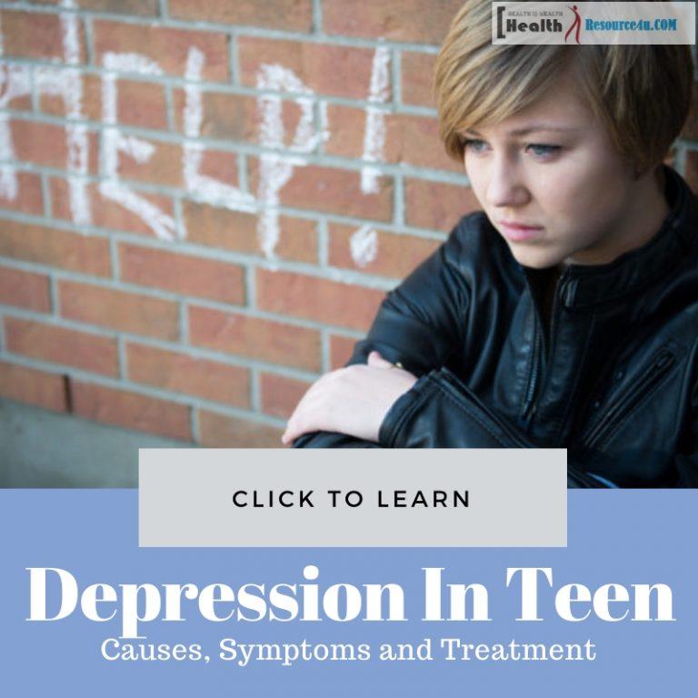 Depression In Teen