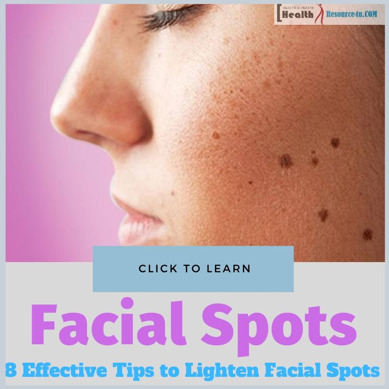 Lighten Facial Spots
