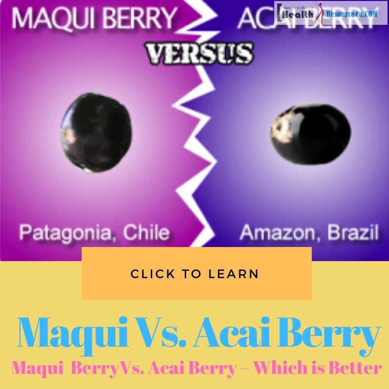 Maqui Berry Vs. Acai Berry
