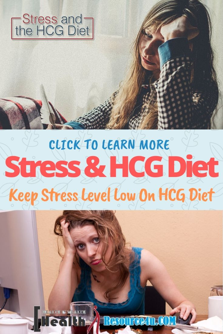 Control Your Stress Level While On the HCG Diet