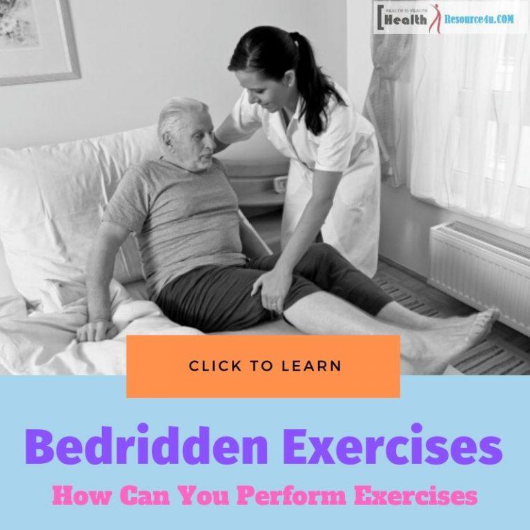 Exercises For The Bedridden