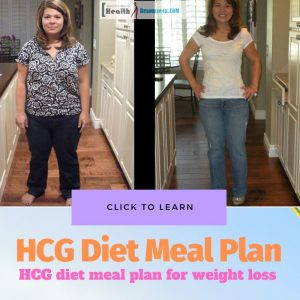 HCG Diet Meal Plan