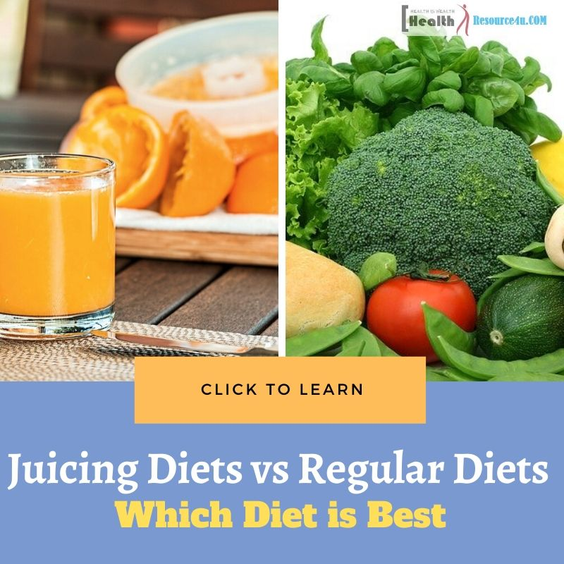 Juicing Diets vs Regular Diets