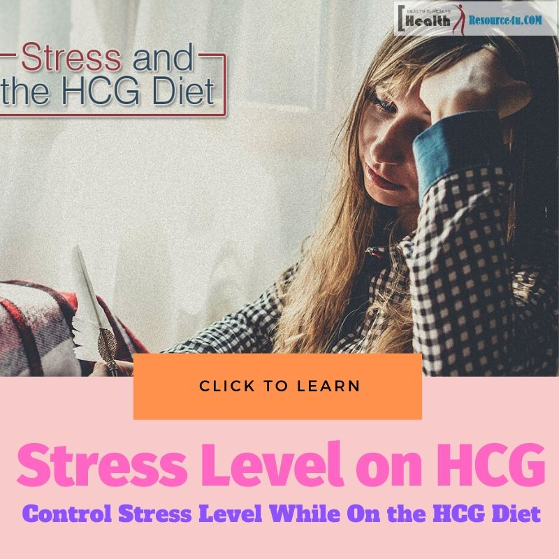 Stress Level Low On HCG Diet