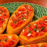 Chunky Tomato Bruschetta