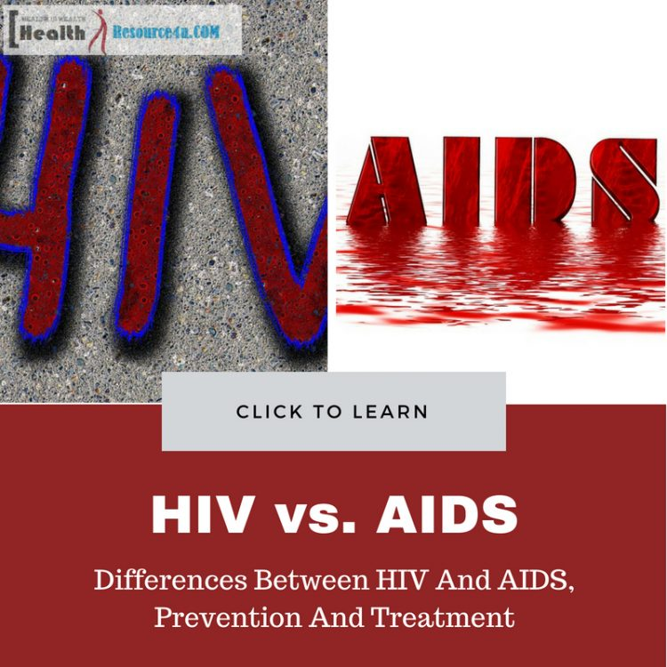 Differences Between HIV And AIDS